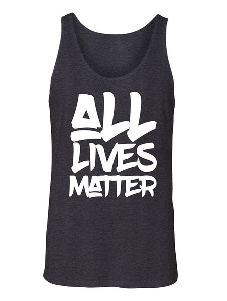 Manateez Men's All Lives Matter Tank Top