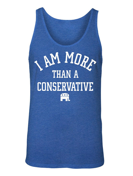 Manateez Men's I Am More Than A Conservative Tank Top