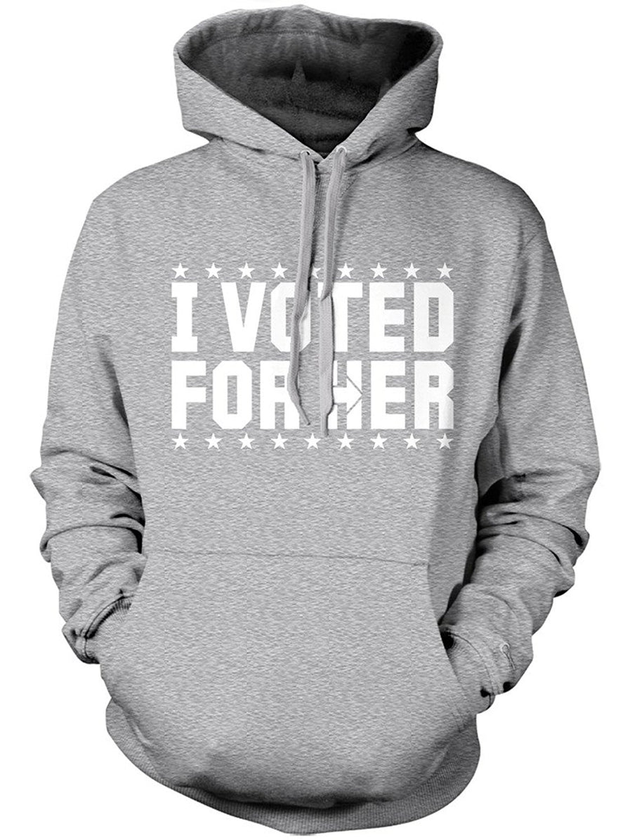 Manateez Hillary Clinton I Voted for Her Hoodie
