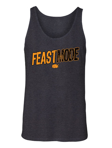 Manateez Men's Thanksgiving Dinner Feast Mode Tank Top