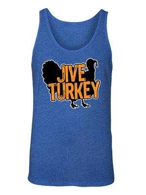 Manateez Men's Thanksgiving Dinner Jive Turkey Tank Top