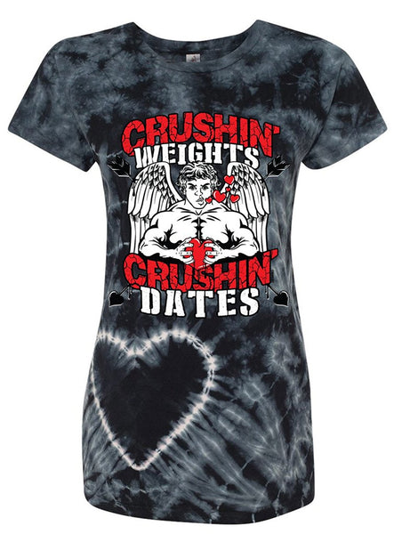 Manateez Women's Jacked Cupid Crushin Weights & Crushin Dates Valentine's Day
