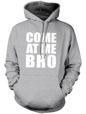 Manateez Men's Come at Me Bro Hoodie