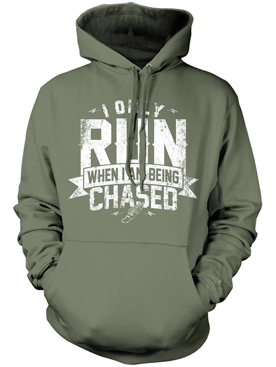 Manateez I Only Run When I Am Being chased Hoodie