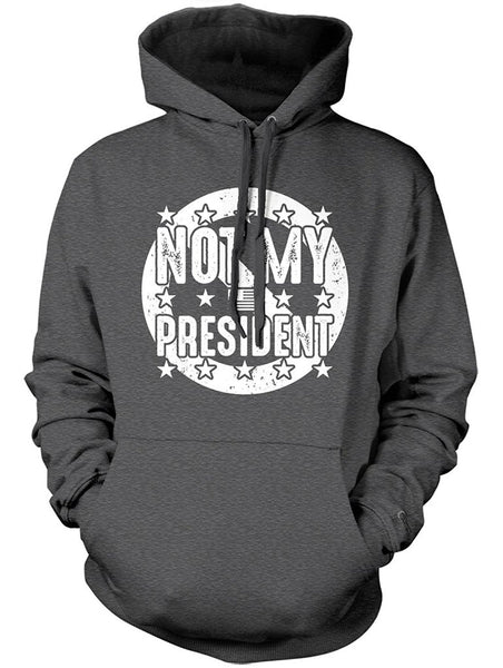 Manateez Never Trump Not My President Hoodie
