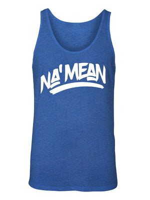 Manateez Men's Do You Know What I Mean NA' Mean Tank Top