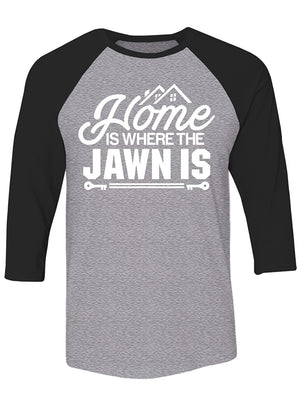 Manateez Philly Home is Where The Jawn Is Raglan