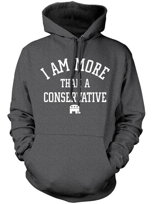 Manateez Men's I Am More Than A Conservative Hoodie