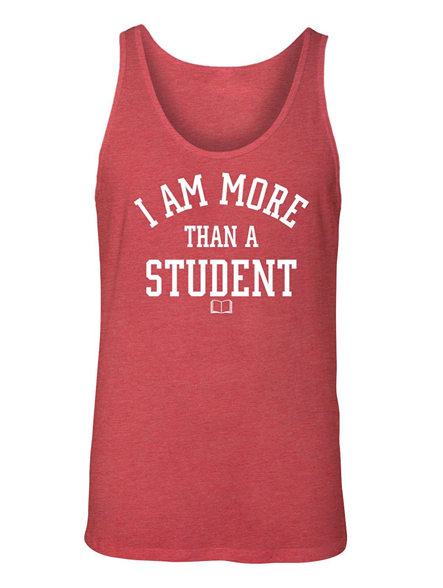 Manateez Men's I Am More Than Just a Student Tank Top