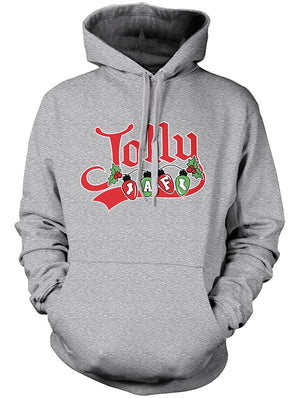 Manateez Ugly Christmas Sweater Jolly AF Hoodie