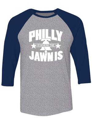Manateez Liberty Bell Philly Jawn Is Raglan