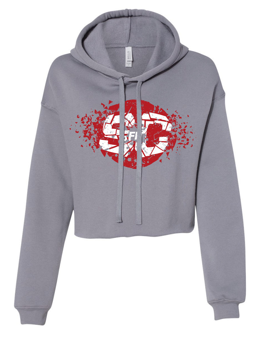 SC Fit Cropped Women's Hoodie