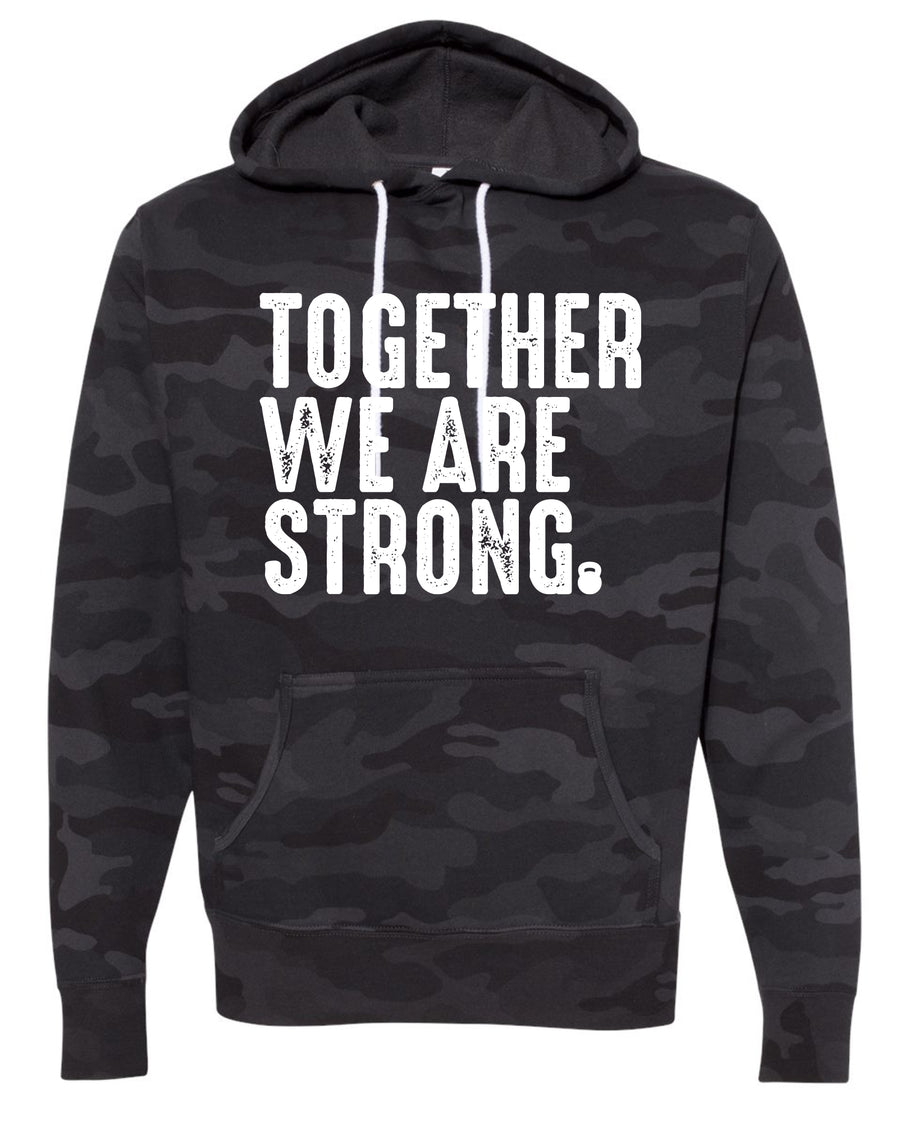 SC Fit Camo Unisex Hood Together We Are Strong afx90un