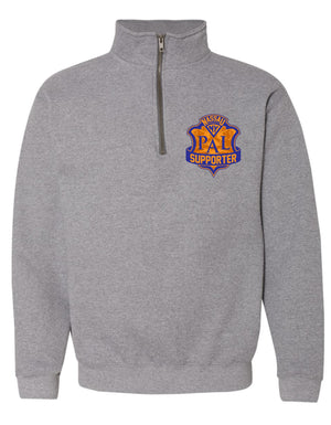 PAL Unisex Supporter 1/4 Zip Hood