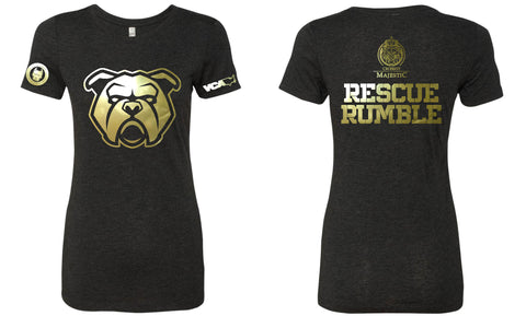 Rescue Rumble Ladies Triblend Tee