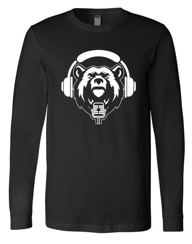 Unisex West Coast Advantage Podcast American Apparel Long Sleeve Tee Black Edition