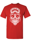Gym Rat Sugar Skull Unisex Tee's