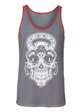Gym Rat Sugar Skull Men's Tank Top