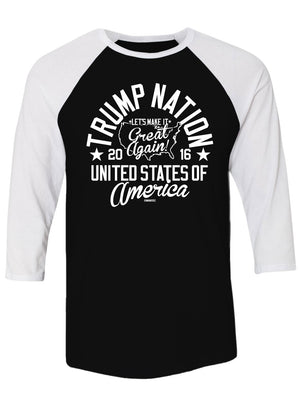 Trump Nation Unisex Raglans