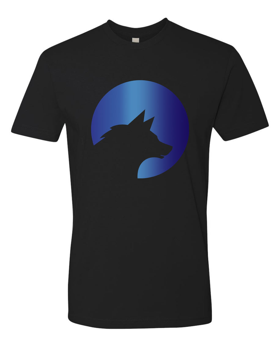 Wolf Capital Big Wolf Mens Crew Neck Tee Design 5