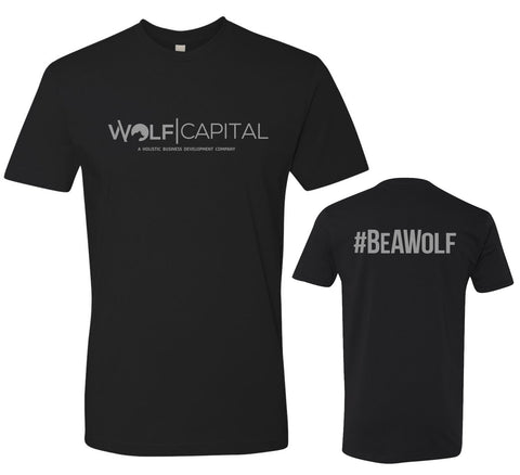 Wolf Capital Mens Crew Neck Tee Design 3