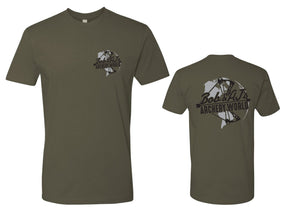 Bob And AJ Archery Men's Tee Black and Gray
