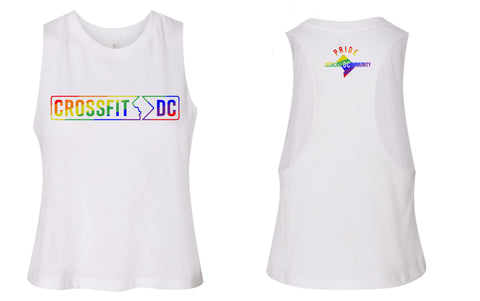 CrossFit DC PRIDE Ladies Cropped Tee