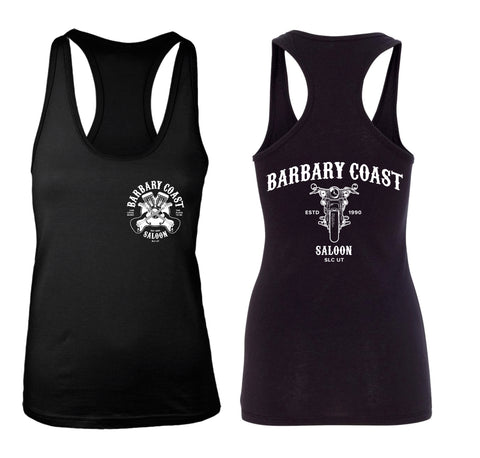 Barbary Coast Saloon Ladies Racer Back