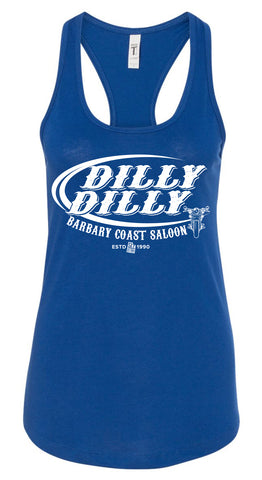 Barbary Coast Saloon Dilly Dilly Ladies Racer
