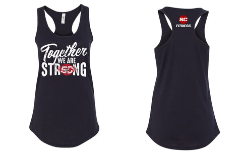 SC Fit Strong Ladies Racerback