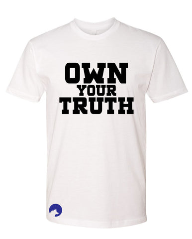 Wolf Capital Mens Mantra Own The Truth Crew Neck