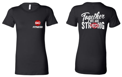 SC Fit Strong Ladies Tee
