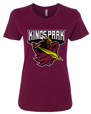 Kings Park Youth Football Adult Ladies Tee