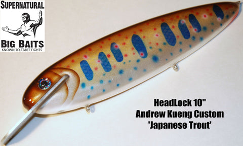 "HeadLock 10"" Custom Andrew Kueng Japanese Trout"