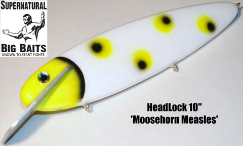 "HeadLock 10"" Standard Moosehorn Measles"
