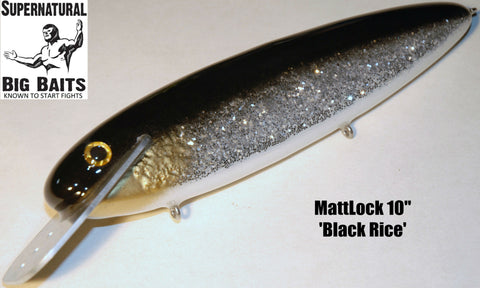 "MattLock 10"" Standard Black Rice"