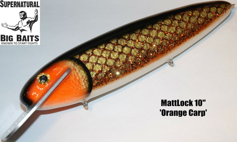 "MattLock 10"" Standard Orange Carp"