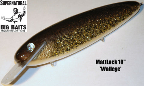 "MattLock 10"" Standard Walleye"