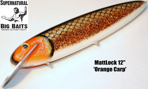 "MattLock 12"" Standard Orange Carp"