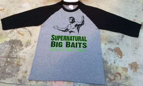 Supernatural Medium Baseball T-shirt