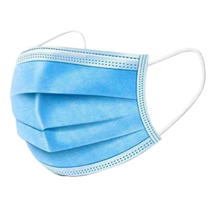 3 Ply Disposable Masks - 50 Quantity