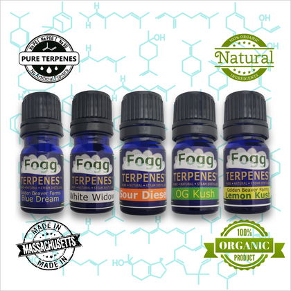 Terpene Profiles and Terpene Products by Fogg Flavor Labs – Fogg Flavors