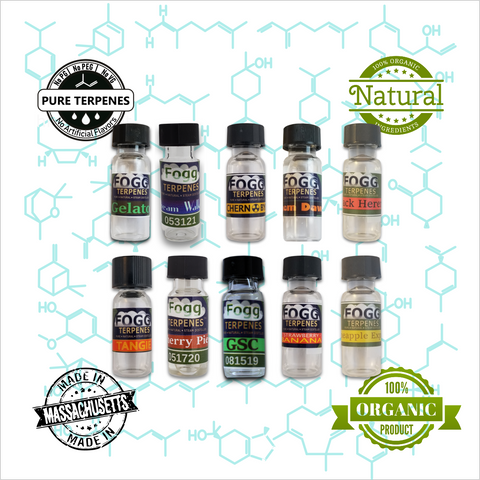 FOGG TERPENES - Captain's New 10 Pack