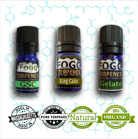 FOGG TERPENES™ - After Dinner Collection - Fogg Terpenes,  - Terpenes, Fogg Flavors - Fogg Flavor Labs, LLC., Fogg Flavors - Fogg Flavors
