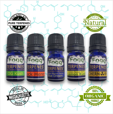 FOGG TERPENES - Couchlock Collection - Fogg Terpenes,  - Terpenes, Fogg Flavors - Fogg Flavor Labs, LLC., Fogg Flavors - Fogg Flavors