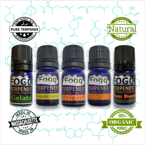 FOGG TERPENES - Fruit Salad Collection - Fogg Terpenes, Pure Terpenes - Terpenes, Fogg Flavors - Fogg Flavor Labs, LLC., Fogg Flavors - Fogg Flavors