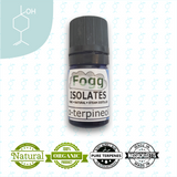 FOGG ISOLATES - Natural Terpineol - Fogg Terpenes, isolate - Terpenes, Fogg Flavors - Fogg Flavor Labs, LLC., Fogg Flavors - Fogg Flavors