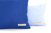 Cobalt Velvet + Cobalt Linen / Medium and Small