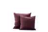 Plum Velvet + Linen / Medium and Small
