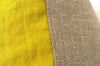 Mustard Linen + Natural Linen / Small Rectangle